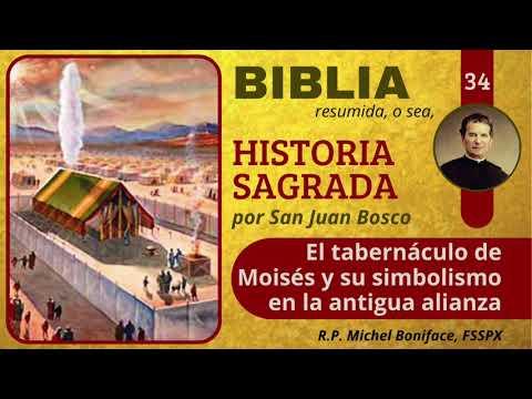 34 El tabernáculo de Moisés y su simbolismo en la antigua alianza | Historia Sagrada
