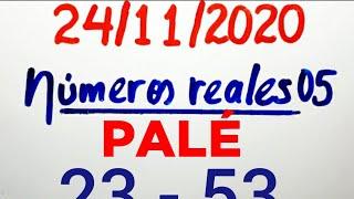 NÚMEROS PARA HOY 24/11/20 DE NOVIEMBRE PARA TODAS LAS LOTERÍAS..!! Números reales 05 para hoy...!!