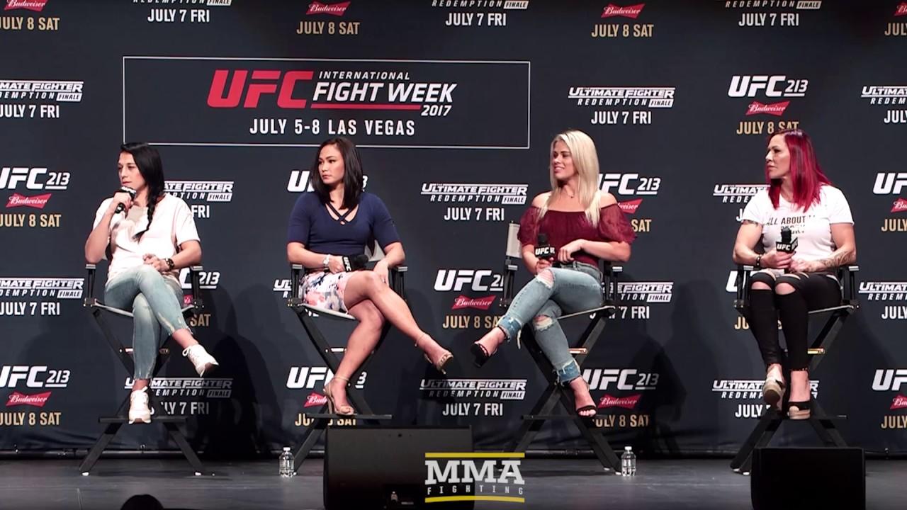 Women of UFC Panel with Jedrzejczyk, Cyborg, Waterson and VanZant - MMA Fighting