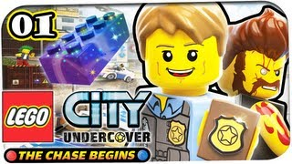 Lego City Undercover: The Chase Begins 3DS Gameplay | Let's Play - #01 - Prequel, zuvor in Lego City