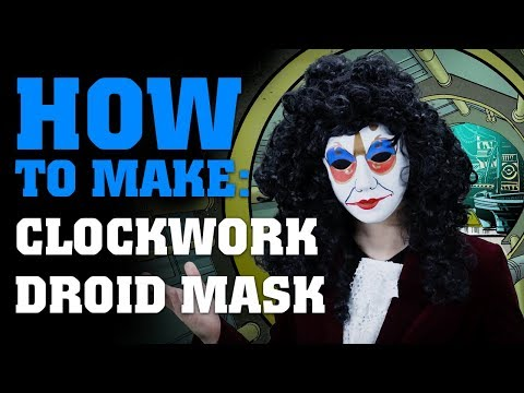 How To Make A Clockwork Droid Mask - Doctor Who