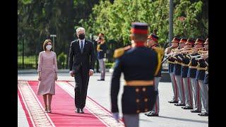 Prezidento oficialus vizitas Moldovoje