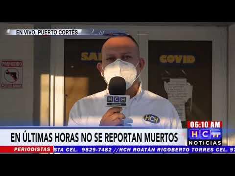 Una semana sin muertes por #Covid19 registra el hospital de #PuertoCortés