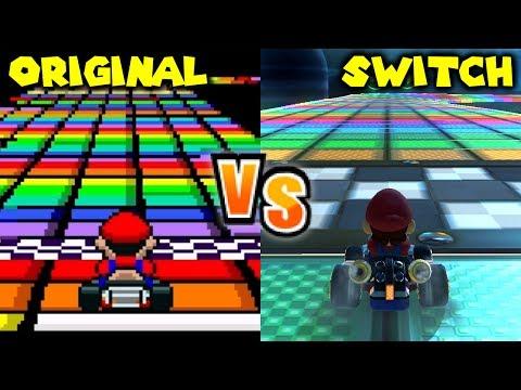 Download Youtube mp3 - Mario Kart Wii - Mirror Mushroom Cup