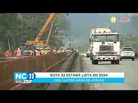 Ruta 32 estará lista en 2024