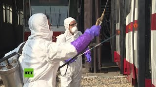 Corea del Norte toma medidas contra el coronavirus