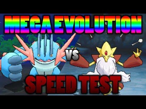connectYoutube - Mega Swampert Vs. Mega Alakazam: Mega Evolution Speed Test In Pokemon Ultra Sun and Moon