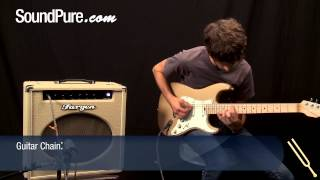 Stevenson Pop Classic Firemist Gold Electric Guitar Demo