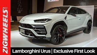 Lamborghini Urus in India   Exclusive First Look   ZigWheels.com