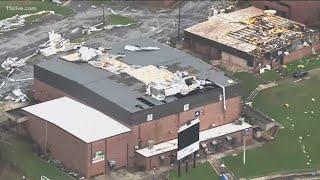 Newnan students return to school after EF-4 tornado ripped through community