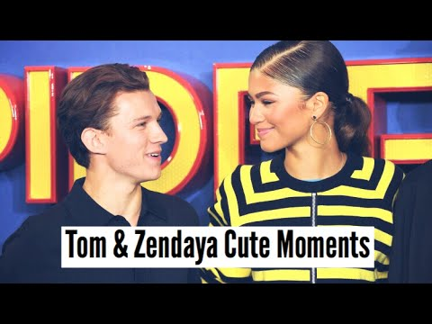 connectYoutube - Tom Holland & Zendaya | Cute Moments