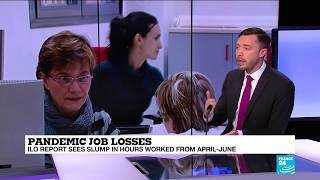 Equivalent of 400 million jobs lost during pandemic, ILO says