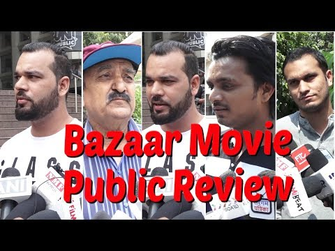 Sloppy Bad story, Bad end |Bazaar Movie Public Review | Bollywood | Bazaar Movie Review