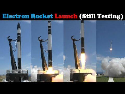 Rocket Lab Launches Electron Rocket - Second Flight (Still Testing)