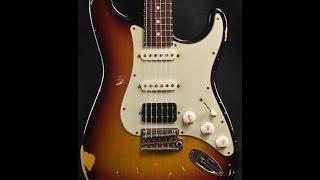 Suhr Classic Antique 3 Tone Burst Electric Guitar Demo