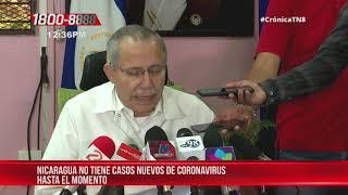 Nicaragua no tiene nuevos casos positivos de coronavirus hasta el momento