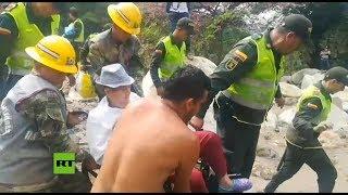 Al menos ocho muertos y seis desaparecidos tras fuertes lluvias en Colombia