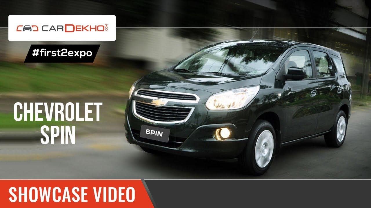 #first2expo: Chevrolet Spin | Showcase Video | CarDekho@AutoExpo2016