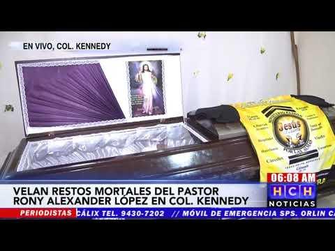 """""""Se nos fue un gran líder""""   Dolor y consternación en velatorio de pastor asesinado en la capital"""