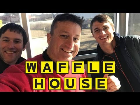 connectYoutube - Hell's Aviators Fly to Waffle House on a Paramotor