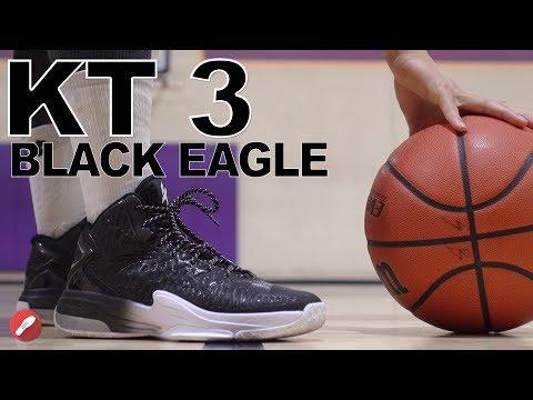 Anta Kt 3 Team Black Eagle (Klay Thompson) Performance Review!