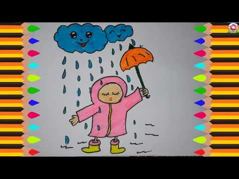 Search Result Rainy Season Drawing For Class 2 Tomclip