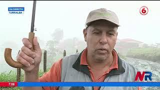 Turrialba es una de las zonas más afectadas por las lluvias