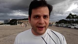 Estamos em Brasília / Brasil com Bolsonaro