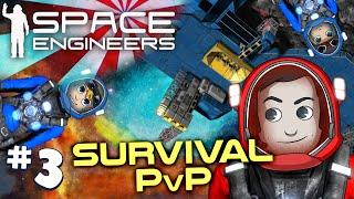 Space Engineers PVP Ep3: Mega Missiles!