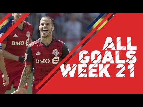 Giovinco buries NYCFC | All Goals, Week 21