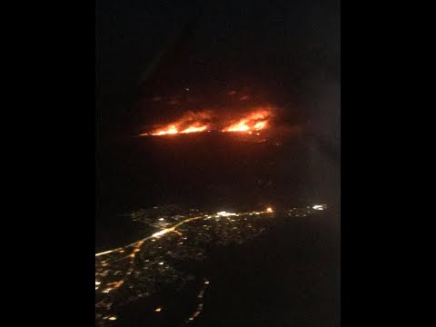 connectYoutube - Aerial Footage Shows Bushfires Burning at Royal National Park
