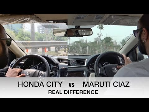 connectYoutube - NEW HONDA CITY VS MARUTI SUZUKI CIAZ : REAL DIFFERENCE