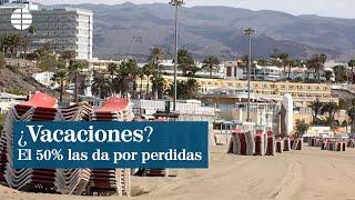 La mitad de los españoles da por perdido el verano y no viajará por turismo
