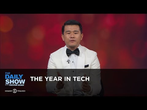connectYoutube - The Year in Tech: The Daily Show