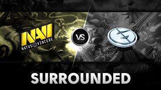 Surrounded! by Na'Vi vs EG  @XMG Captains Draft Season 2