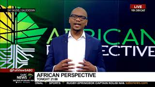 Coming up African Perspective tonight (08 July 2020)