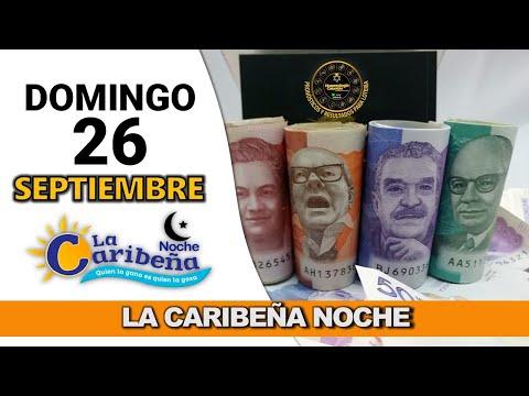 Resultados CARIBEÑA NOCHE Domingo 26 de septiembre de 2021
