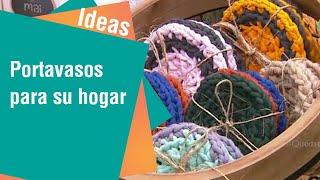Curiosos portavasos para su hogar   Ideas