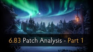 Dota 2 - Patch Analysis 6.83 with SUNSfan & syndereN - Part 1