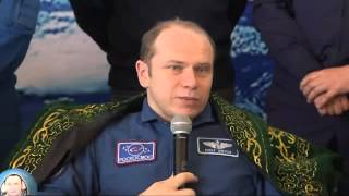 Expedition 38 Discusses Experience in Space