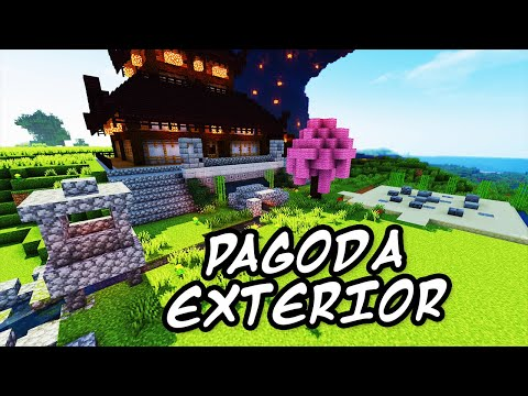 download youtube to mp3 minecraft tutorials minecraft tutorial 27 how to build the japanese pagoda exterior hd - Minecraft Japanese Rock Garden