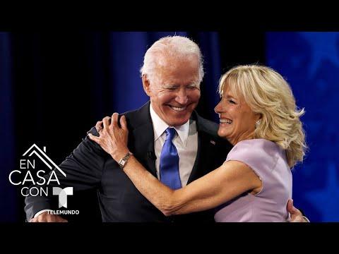 La primera dama regaña al presidente Joe Biden para poner atención durante conferencia   Telemundo