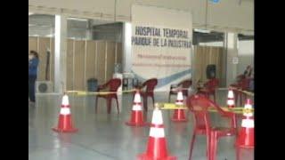 Hospital temporal del Parque de la Industria se encuentra saturado