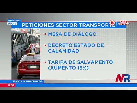 Buses y taxis aplican tortuguismo