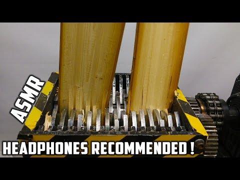 connectYoutube - Shredding Wooden Planks | Satisfying Sounds !