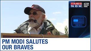 PM Narendra Modi's Address to soldiers in Leh-Ladakh LIVE | Full Speech - TIMESNOWONLINE