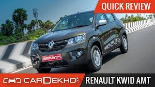 Renault Kwid AMT   Quick Review