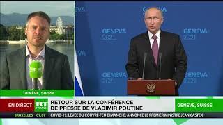 Sommet Biden/Poutine à Genève : une nouvelle étape dans les relations entre Russie et Etats-Unis