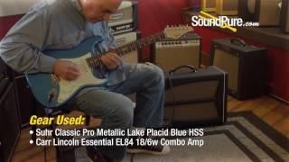 Suhr Classic Pro Metallic Lake Placid Blue HSS IRW