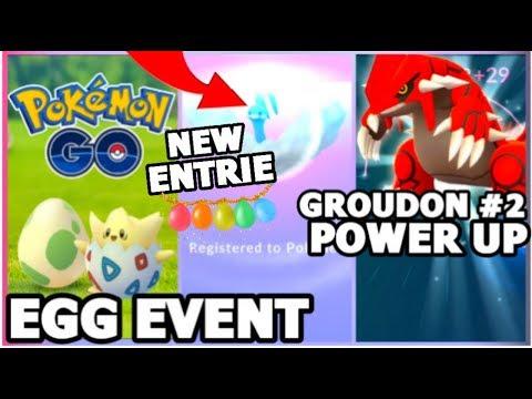 connectYoutube - DOUBLE STARDUST 2KM EGG EVENT IN POKEMON GO | POWERING GROUDON 2 | MANECTRIC RAID
